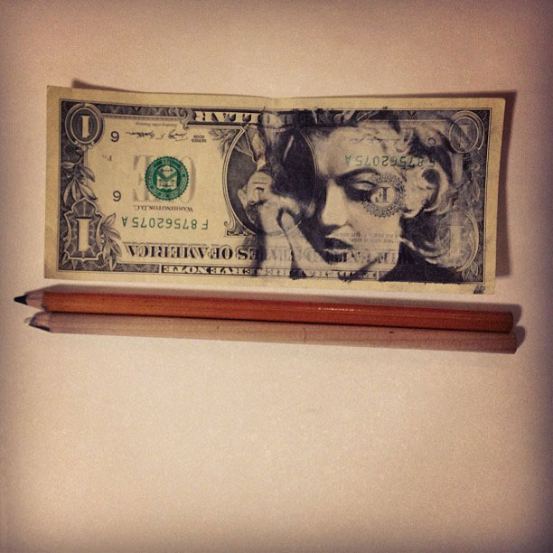 dollar bill art currency doodles by hash ashish patel (2)