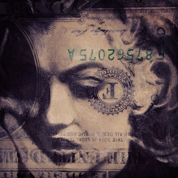 dollar bill art currency doodles by hash ashish patel (4)