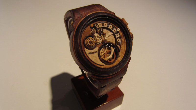 functional watches made out of wood by Valerii Danevych (1)