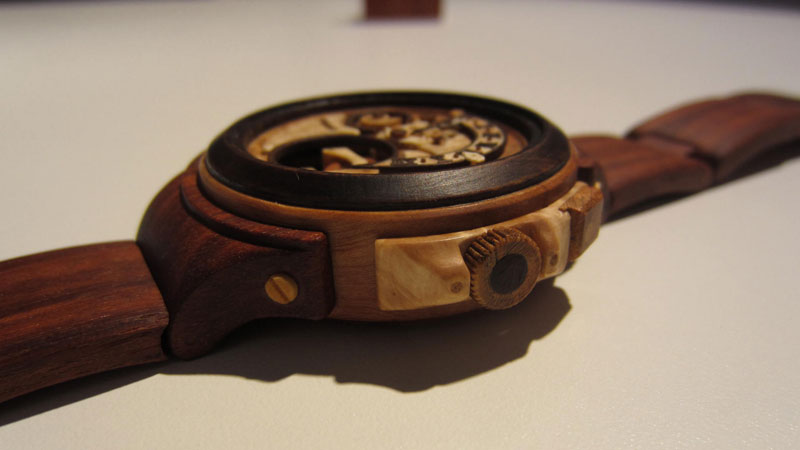 functional watches made out of wood by Valerii Danevych (3)