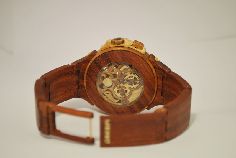 functional watches made out of wood by Valerii Danevych (4)