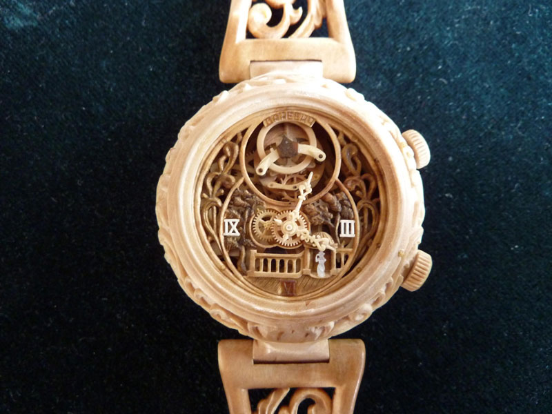 functional watches made out of wood by Valerii Danevych (8)
