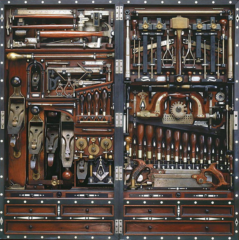 ho studley tool chest Picture of the Day: The Studley Tool Chest