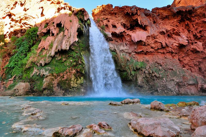 hvaasu falls grand canyon arizona (2)