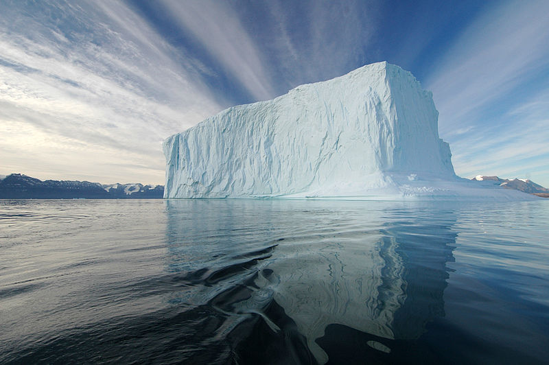 Iceberg in the Northeast Greenland National Park