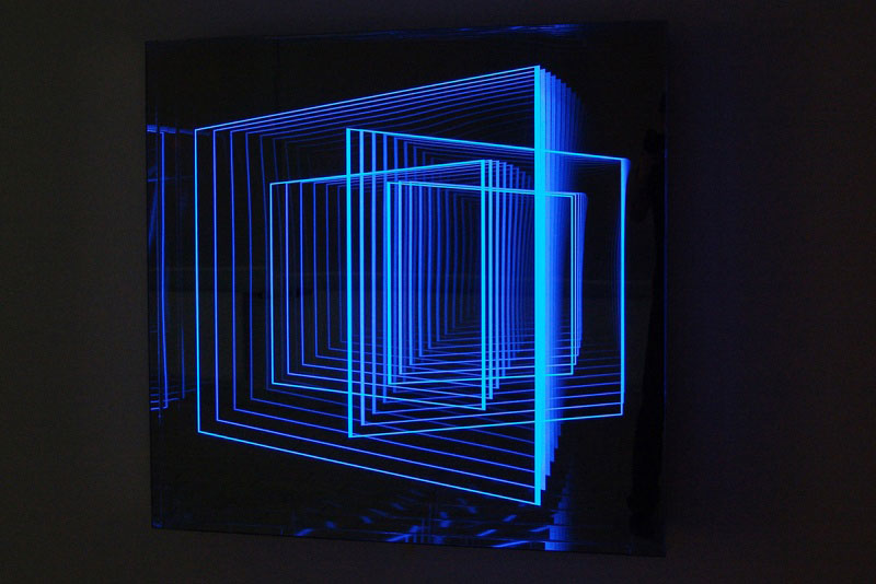 infinite artworks made with plexiglas mirrors and leds twistedsifter