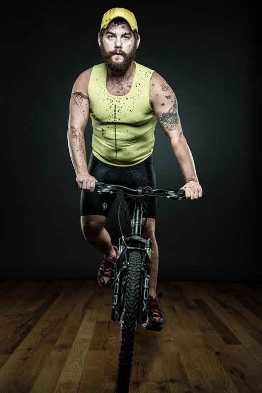 jesse dockins triathlete of beards and men by joseph oleary Of Beards and Men