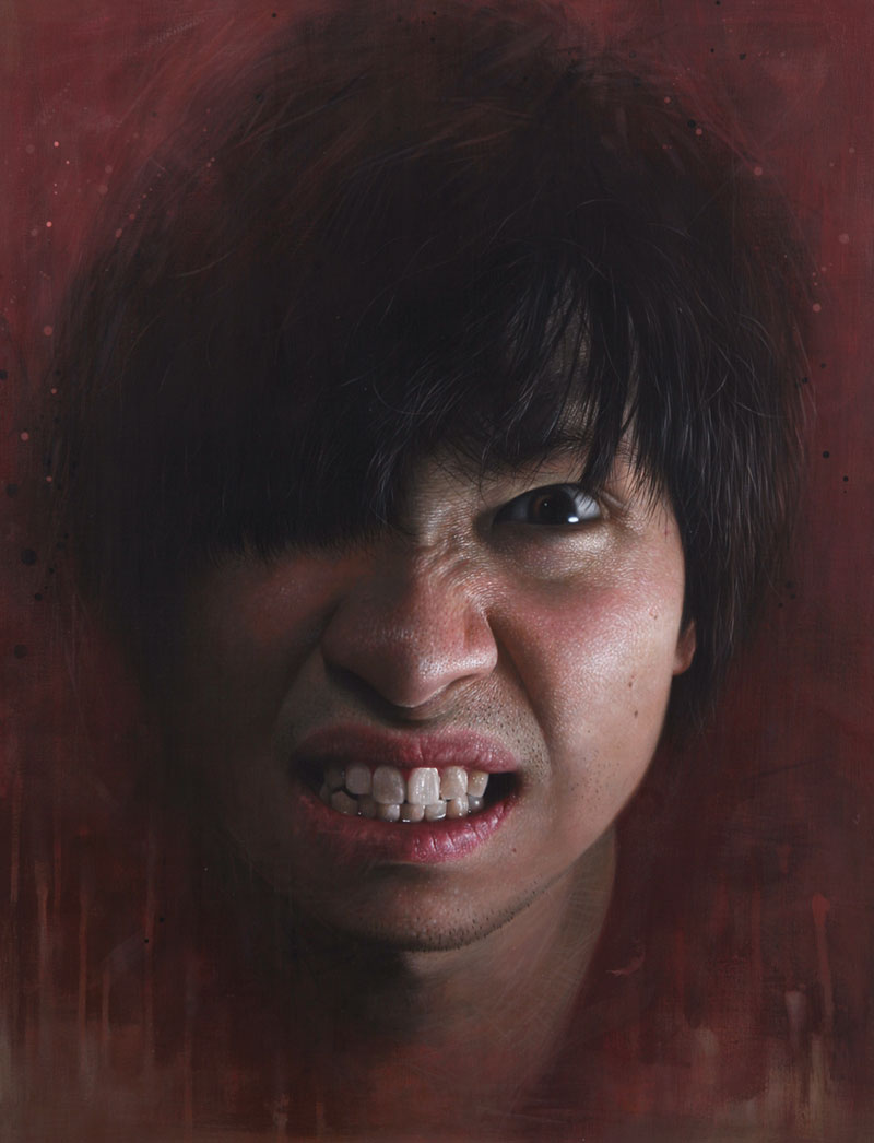 hyperrealistic portraits using acrylic paint twistedsifter