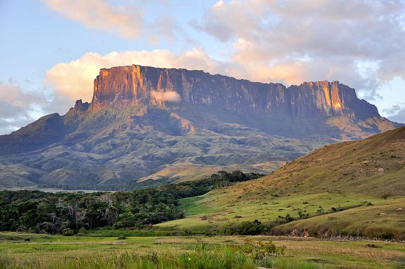 Kukenan Tepui in Gran Sabana National Park Venezuela