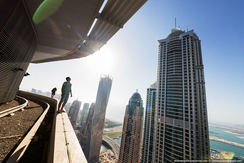 rooftopping dubai urban exploration vadim makhorov (11)