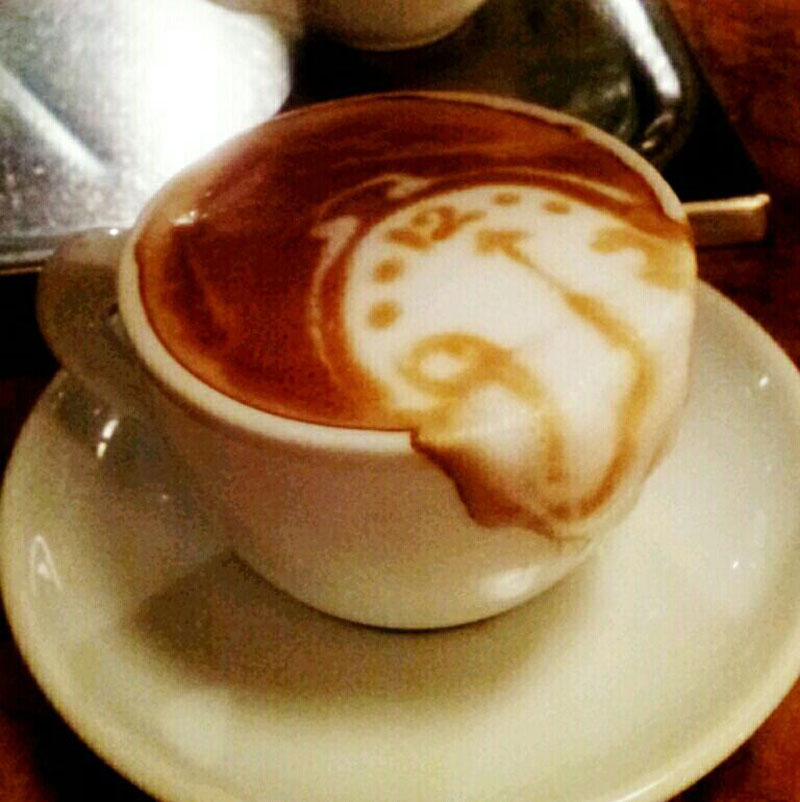 Picture of the Day: Salvador Latte
