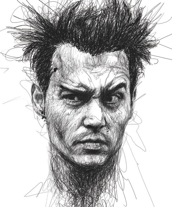 scribble portraits by vince low (1)