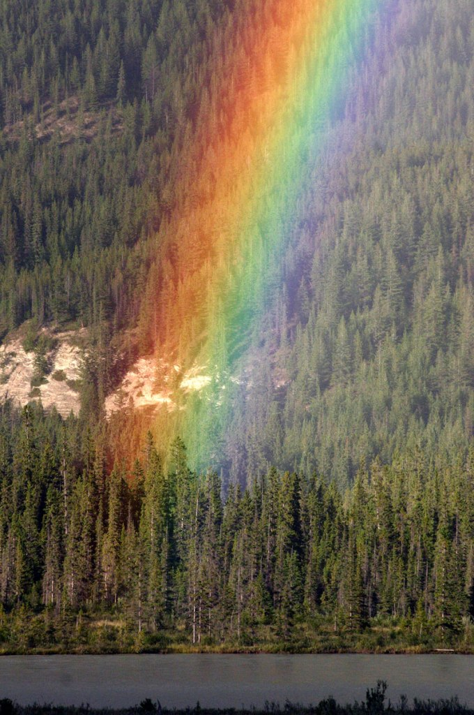 What the End of a Rainbow LooksLike