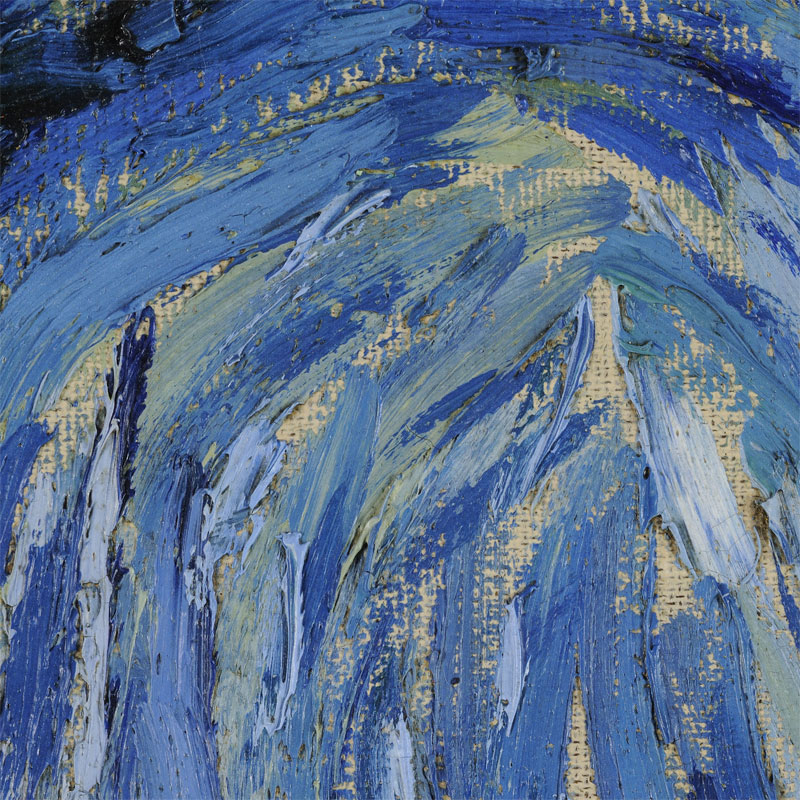 the starry night vincent van gogh close up 5 Extremely Detailed Close Ups of Van Goghs Masterpieces