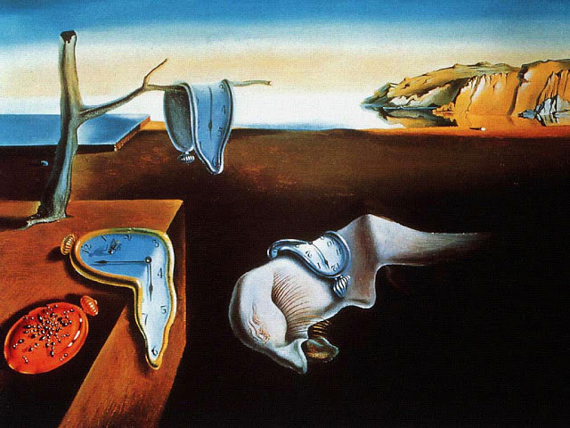 the persistence of memory   1931 salvador dali Picture of the Day: Salvador Latte