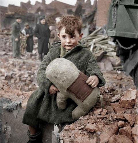 Abandoned-boy-holding-a-stuffed-toy-animal