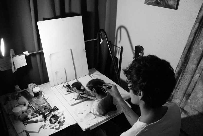 Anamorphic 3D Pencil Drawings by Fredo (3)