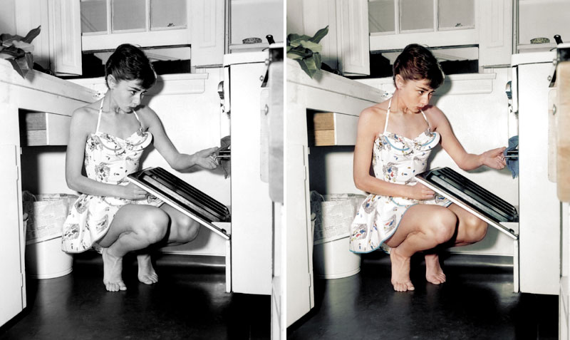 20 Historic Black and White PhotosColorized