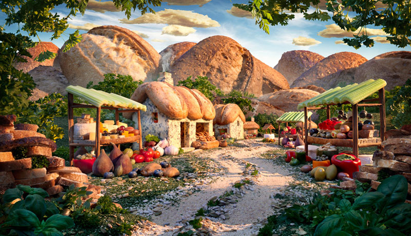 https://twistedsifter.files.wordpress.com/2013/08/bread-village-carl-warner.jpg?w=800&h=459