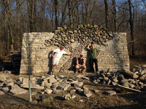 dry stone tree wall memorial eric landman (7)