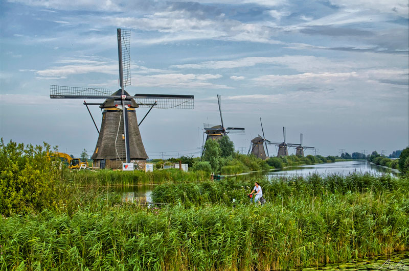 dutch windmills the netherlands Picture of the Day: Windmills in the Netherlands