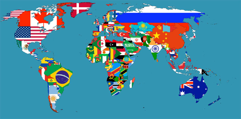 Maps That Will Help You Make Sense Of The World TwistedSifter - Picture of world map