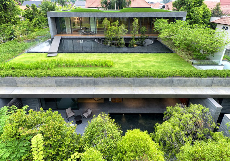 A 'Green' Oasis in the Heart ofSingapore