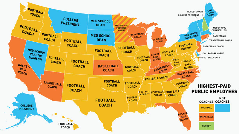 Where public employees get paid