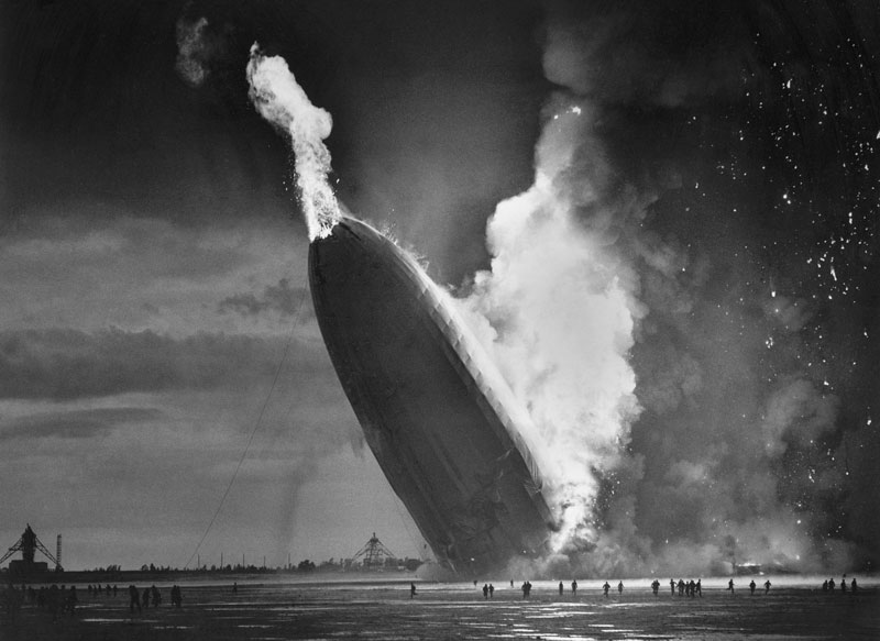 Hindenburg disaster 1937 dana keller original
