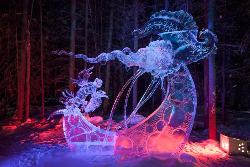 ice alaska world ice art championships 2013 single block (15)