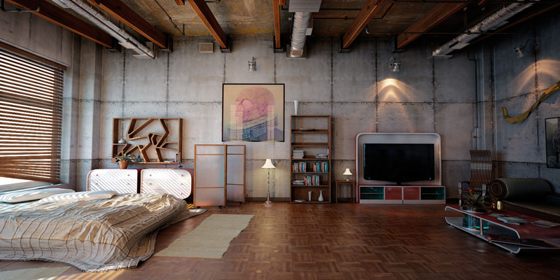 industrial loft 2 by denis vema 15 CGI Artworks That Look Like Photographs