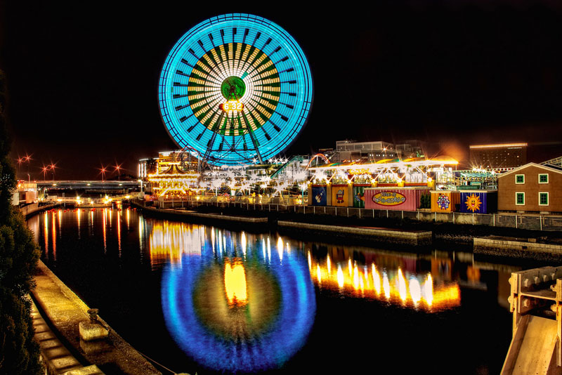 Have You Ever Seen Long Exposure Photos of Ferris Wheels?