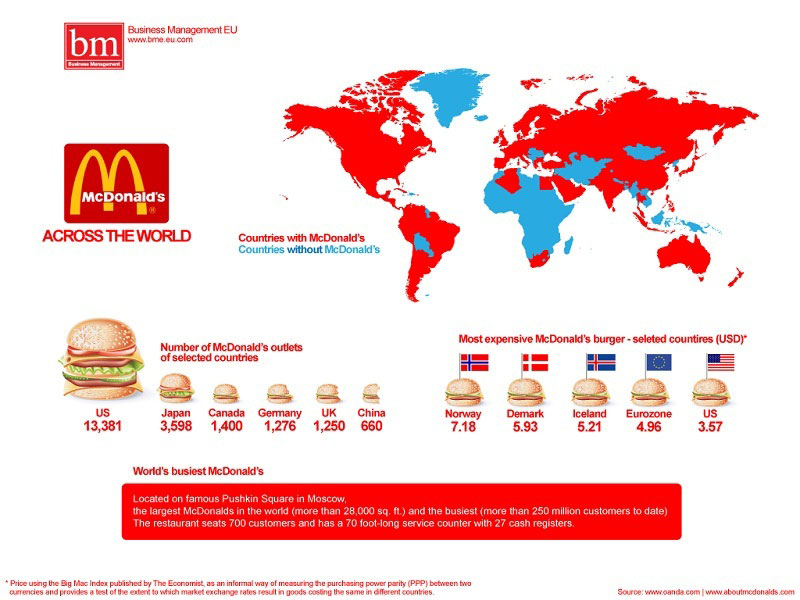 map of countries with mcdonalds 40 Maps That Will Help You Make Sense of the World