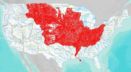 map-of-rivers-that-feed-into-the-mississippi-river