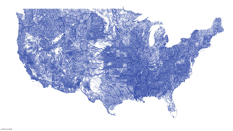 Maps That Will Help You Make Sense Of The World Unofficial - Us map with rivers