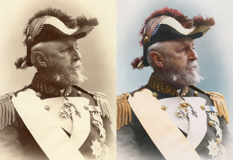 Oscar ii king of sweden and norway