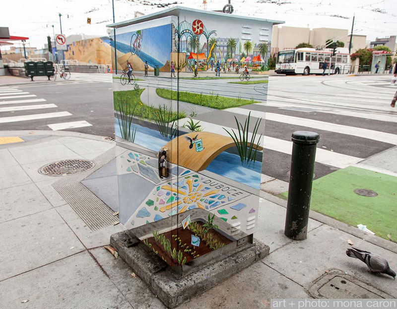 painted-utility-box-san-francsico-chuch-and-duboce-transparent-translucent-by-mona-caron