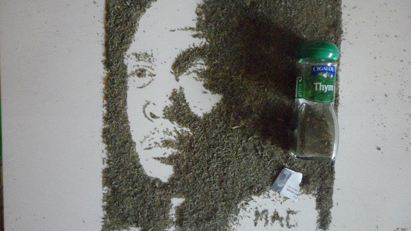 speed painting portraits made from various foods and drinks (12)