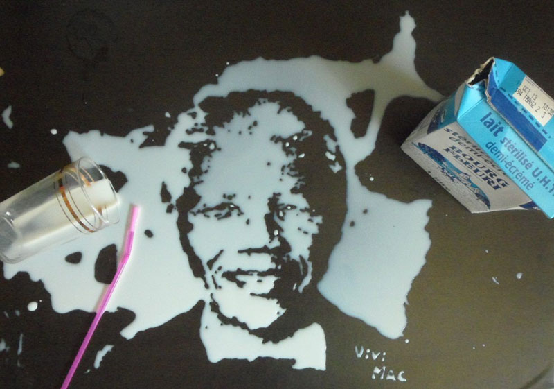speed painting portraits made from various foods and drinks (15)