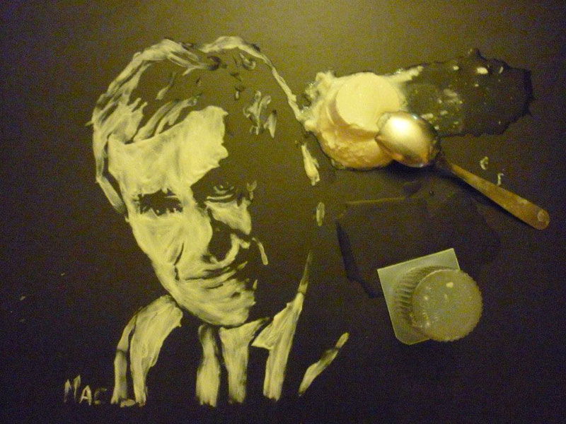 speed painting portraits made from various foods and drinks (4)