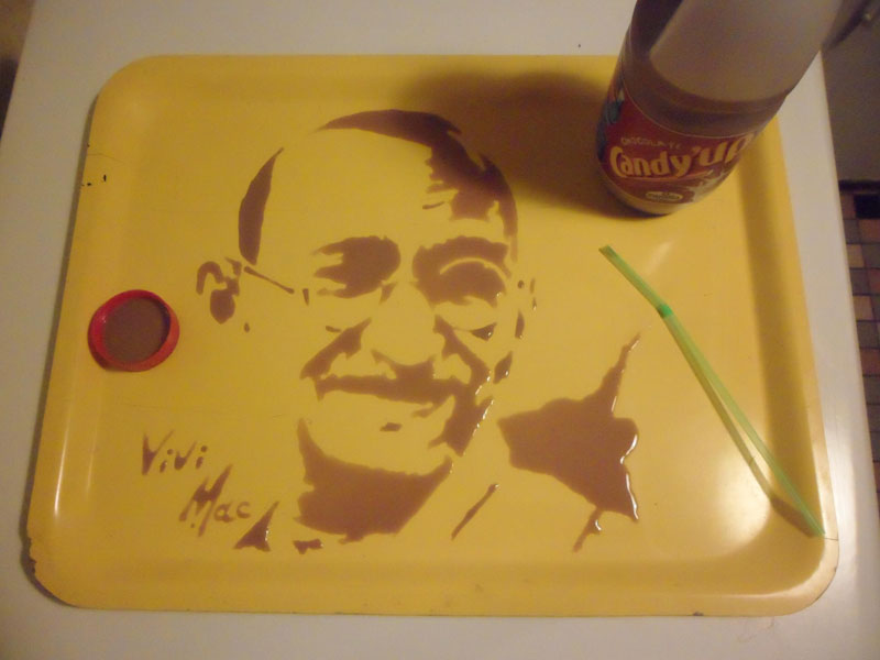 speed painting portraits made from various foods and drinks (8)