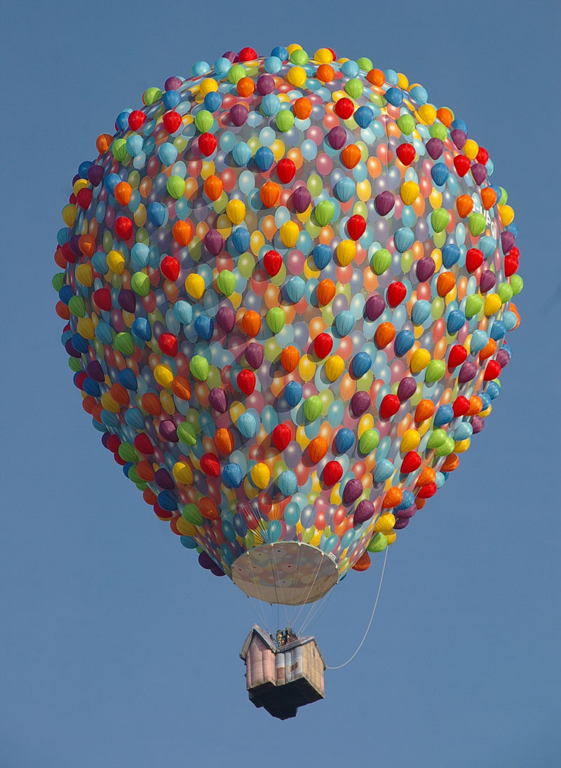 Picture Of The Day: The 'Up' Hot Air Balloon «TwistedSifter