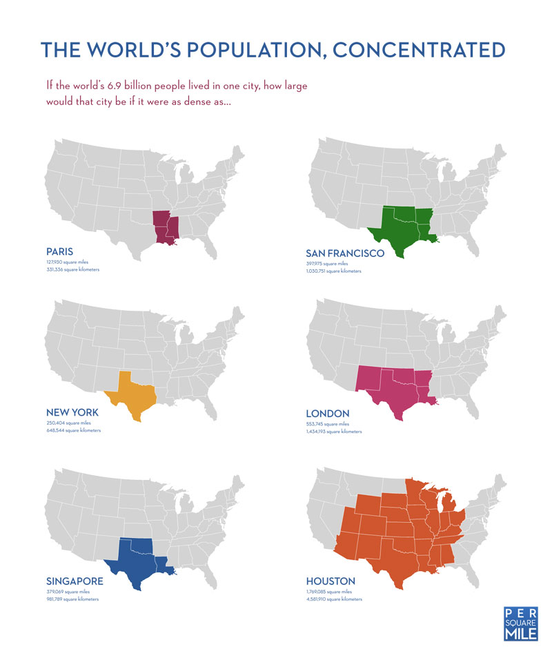 the worlds population concentrated 40 Maps That Will Help You Make Sense of the World