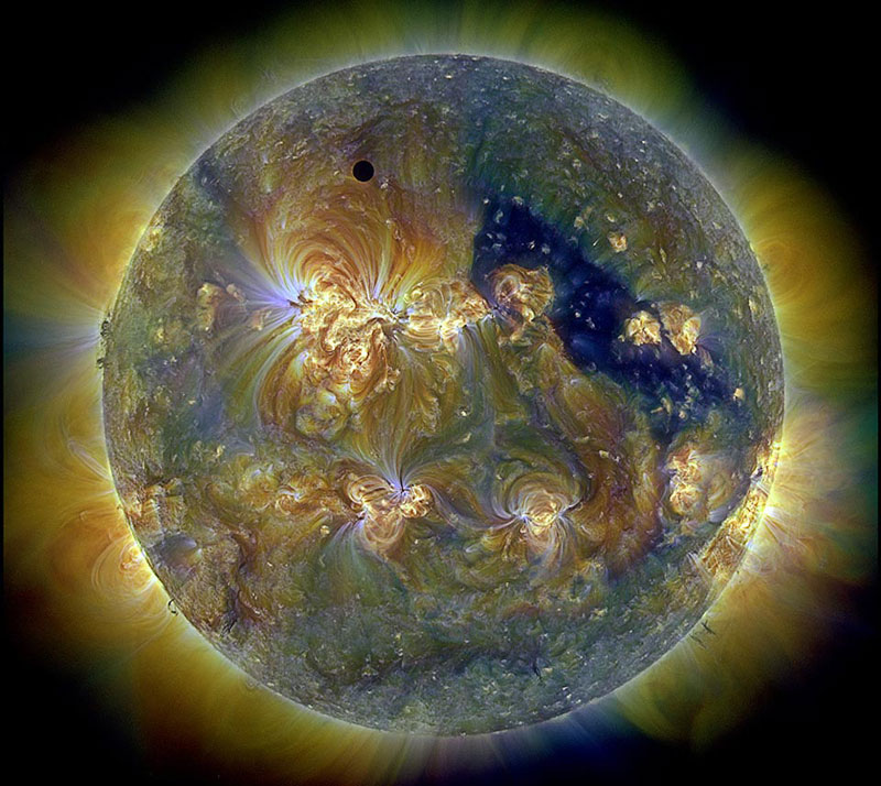 venus planetary eclipse Picture of the Day: The Eclipse of Venus