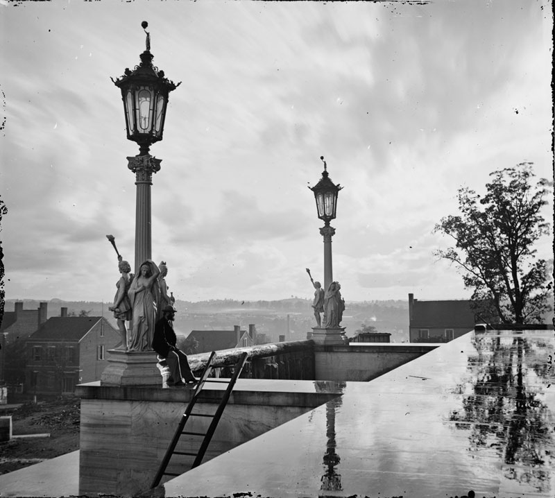 View-from-Capitol-in-Nashville-Tennessee-during- & 20 Historic Black and White Photos Colorized «TwistedSifter azcodes.com