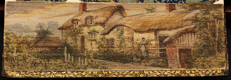 anne-hathaway-cottage-fore-edge-book-painting