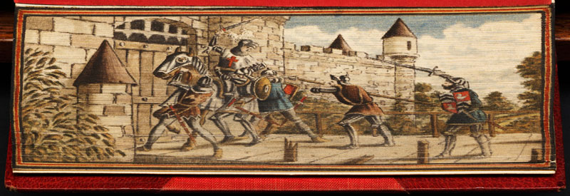capture-of-joan-of-arc-fore-edge-book-painting