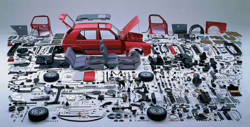 httptwistedsiftercom201309exploded-view-of-vw-golf-mk2