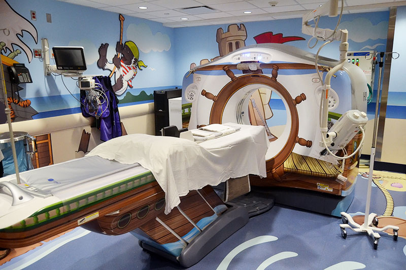 Picture of the Day: Sailor-Themed CT Scanner for Kids