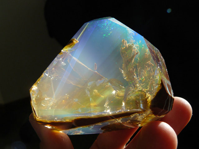 ocean inside an opal oregon butte 8 This is a Cut and Polished Chinga Meteorite